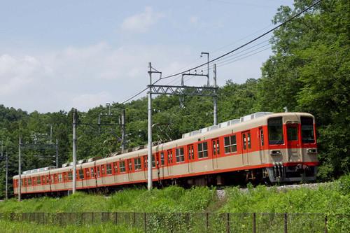 東武電車 ツートンカラー
